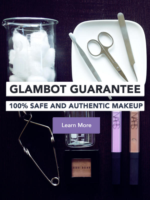 The Glambot Guarantee - 100% Safe and Authentic Makeup
