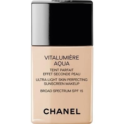 chanel vitalumiere aqua beige 30 best deals on chanel cosmetics. Black Bedroom Furniture Sets. Home Design Ideas